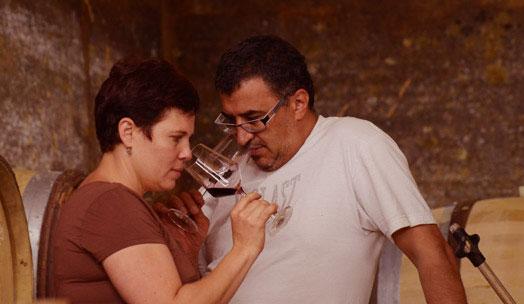 Rotem & Mounir Saouma wine producer